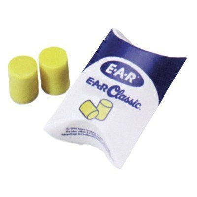 Uncorded 5 Pairs//Bag ES-01-001SP 3M E-A-R E-A-Rsoft Yellow Neons Earplugs 36 dB