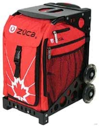 Amazon.com : Zuca Bag O'Canada (Blue Frame) : Ice Skating Bags