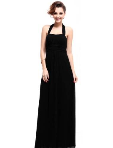 HE09593BK06, Black, 4US, Ever Pretty Evening Dresses For Mother's Day Party 09593