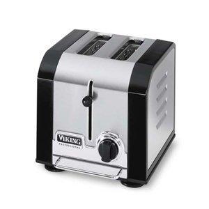 Viking 2 Slot Toaster - Black VT200BK