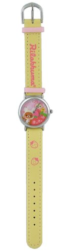 [Isamcorporation] ISAM CORPORATION watch Rilakkuma (rilakkuma) rolling watch analogue display yellow RK10615 girls