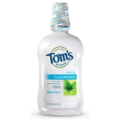 Tom's of Maine Spearmint Cleansing Mouthwash,