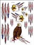 Racers Edge SIC025 Eagle Decal Sheet - 1