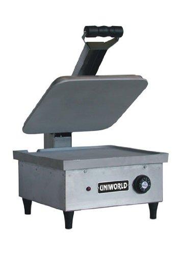 Uniworld (Usas) Commercial Sandwich Grill Medium