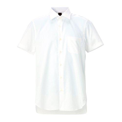 (タケオ キクチ)TAKEO KIKUCHI クールマックスアワティドレスシャツ ホワイト(001) 04(LL)