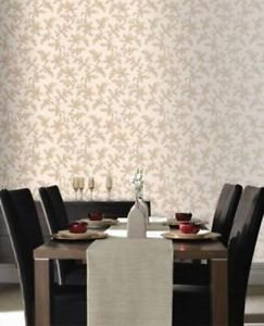 Premier Sarra Textured Wallpaper - Gold from New A-Brend