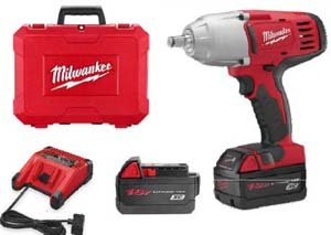 Milwaukee 2663-22 18-volt M18 1/2-Inch High Torque Impact Wrench with Friction Ring by Milwaukee