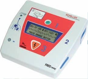 Schiller FRED Easy Defib with ECG & Manual Over-ride
