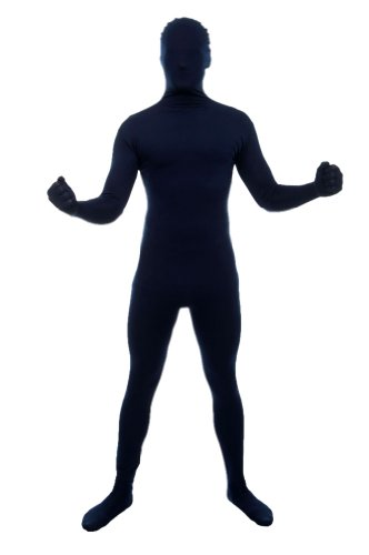 Navy Blue Full Body Suit - Adult Large