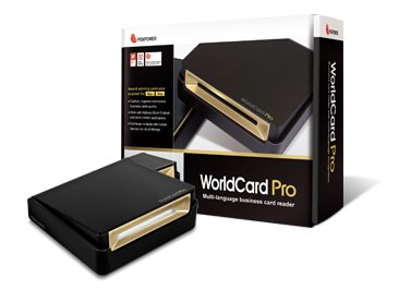 Review Penpower WorldCard Pro Card Scanner - LL1498