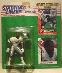 1993 Cortez Kennedy Seattle Seahawks Kenner SLU Starting Lineup NFL Football Figure by Starting Line Up