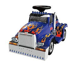 New Star Optimus Prime Battery Operated Riding Toy
