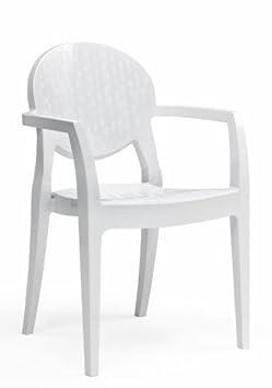 Poltrona Igloo Scab Bianco Pieno