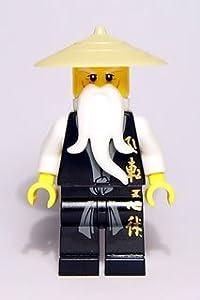 LEGO Ninjago: Sensei-Wu (Black Outfit) Minifigure
