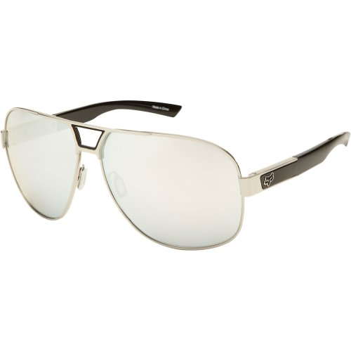 Fox Racing The Moter '13 Adult Authentic Sunglasses - Polished Chrome/Chrome Spark / One Size Fits All