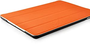 VEO Orange Ultra Slim Full Body Smart Case Cover for The New iPad Air (iPad 5, 5th Generation released November 1st 2013) with Full Sleep Wake compatibility