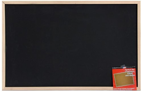 Dooley Wood Framed Chalk Board, 23 x 35 Inches