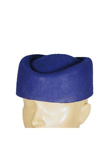 HMS Men's Classic Pillbox Hat, Blue, One Size