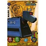 Doctor Who Alien Armies Embossed Foil Card E20
