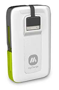 MyCharge RFAM-0165 Summit 3000 Rechaable Power Bank, White