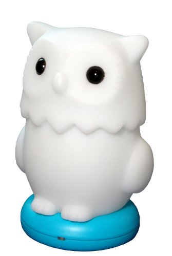 KinderGlo Owl Portable Fun and Safe Rechargeable Night Light - 1