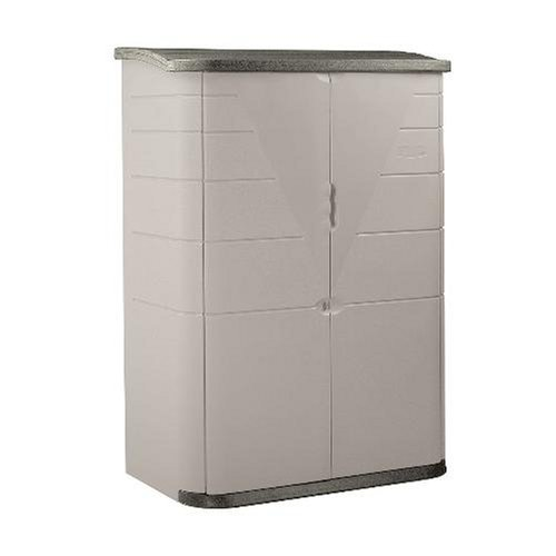 Rubbermaid 3746 Vertical Storage Shed, 52-Cubic Ft