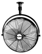 Air King 9320 1/6 HP Industrial Grade Ceiling Mount Fan, 20-Inch