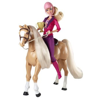 Review for Delightful Barbie Train to Trot Tawny and Doll - Cleva Edition H8' Bundle