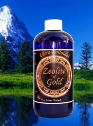 Liquid Zeolite & Colloidal Gold