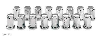 AMS 10mm Flat Lug Nuts - Chrome YX-003