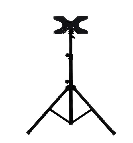 Audio2000's AST423Y Mobile Flat Panel Portable Tripod TV Stand (Portable Lcd Stand compare prices)