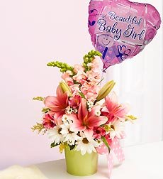 Flowers by 1800Flowers - Little Princess Bouquet - Small with Balloon