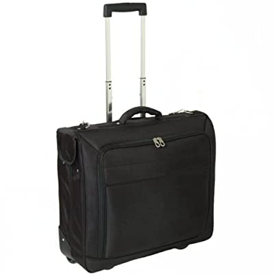 Karabar Wheeled Garment/Suit Carrier Bag (Black) from Karabar