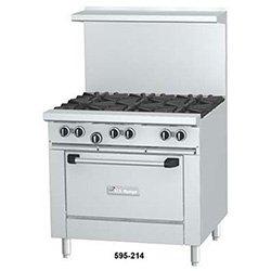 """Garland U36G36R Commercial Gas Range 36""""W, 1 Standard Oven, 36"""" Griddle"""