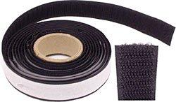 klebeband klett hakenband f r holz und 30 mm weiss 25m rolle. Black Bedroom Furniture Sets. Home Design Ideas