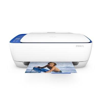 HP DeskJet 3636 AiO Inyección de tinta térmica A4 Wifi Color blanco - Impresora multifunción (Inyección de tinta térmica, 600 x 300 DPI, 1200 x 1200 DPI, A4, 216 x 297 mm, Color)