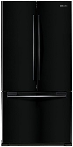 Samsung RF18HFENBBC 17.5 Cu. Ft. Black Counter Depth French Door Refrigerator (Black Counter Depth Refrigerator compare prices)
