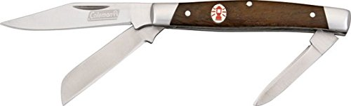 Coleman Camper Traditional Three Bladed Pocket Knife (Medium)