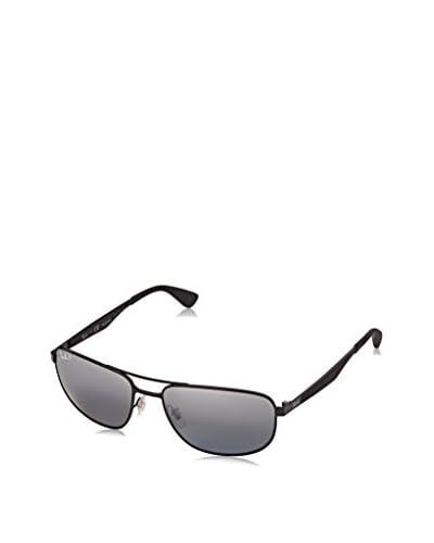 RAY BAN Gafas de Sol Polarized RB3528 006/82 (58 mm) Negro