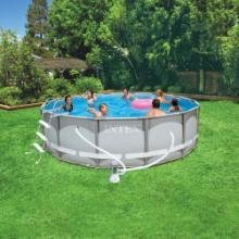 Intex Ultra Frame 14 Foot X 42 Inch Above Ground Swimming Pool Above Ground
