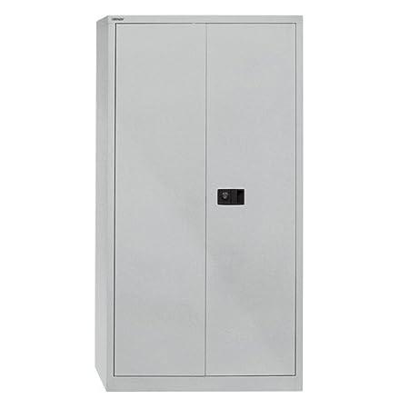 Bisley E722A03 180 cm Stationery Cupboard - Silver