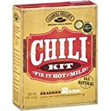 One 4 oz CarrollShe Original Texas Chili Mix