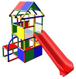 Home Playground Structure w/ Slide