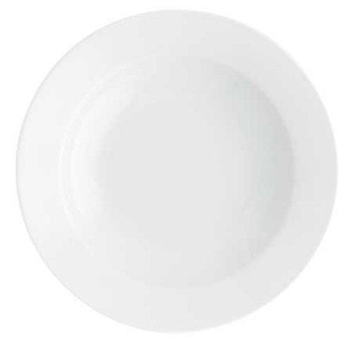Pronto white pasta grande deep 11.81 inches