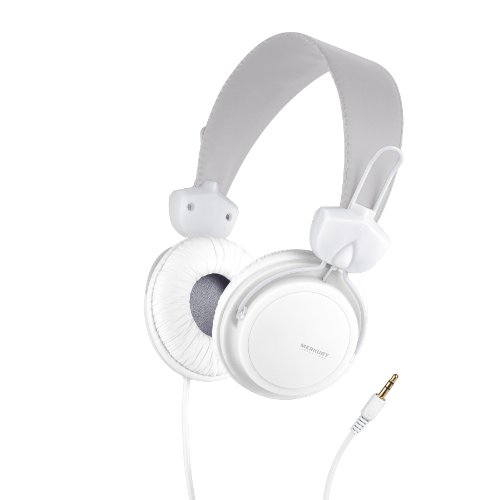 Merkury Innovations Edge Headphones - White (M-Hl1050)