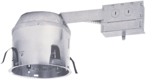 Cooper Lighting H27Ricat 6-Inch Shallow Ceiling Ic Airtite Remodel 120V Line Voltage Remodel Housing