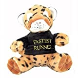 Cheetah Soft Toy - Cute & Cuddly, With T-Shirt