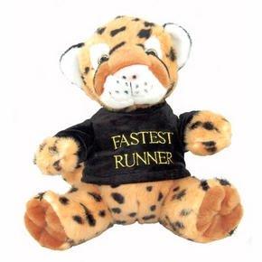 Cheetah Soft Toy - Cute & Cuddly, With T-Shirt
