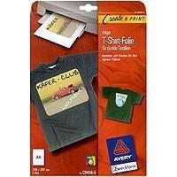 Eur 13 90 for Avery t shirt transfer paper for laser printers