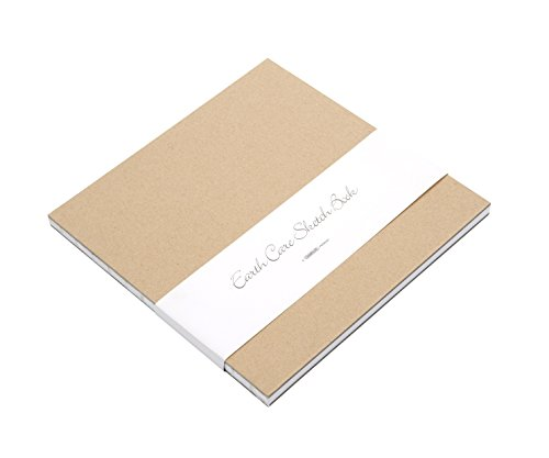 Grand Luxe 8 x 8-Inches Earthcare Sketch Book (070533)